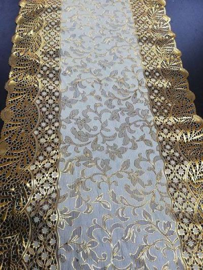 PCS TABLE RUNNER GOLD D5