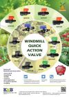 Windmill Quick Action Valve