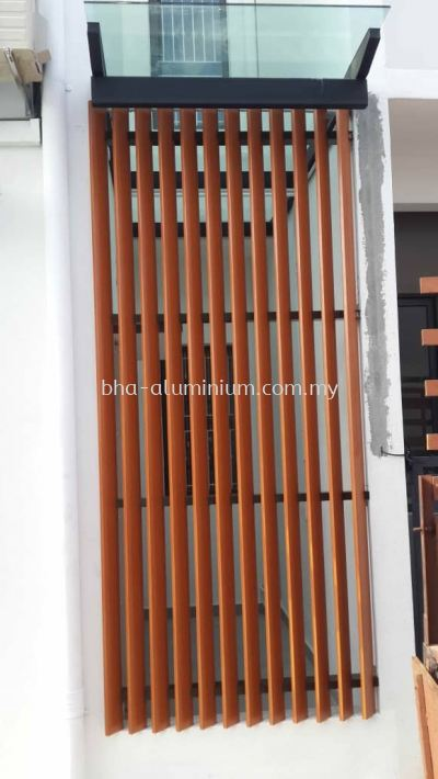 80mm x 20mm ROLL FORMED BOX LOUVRES