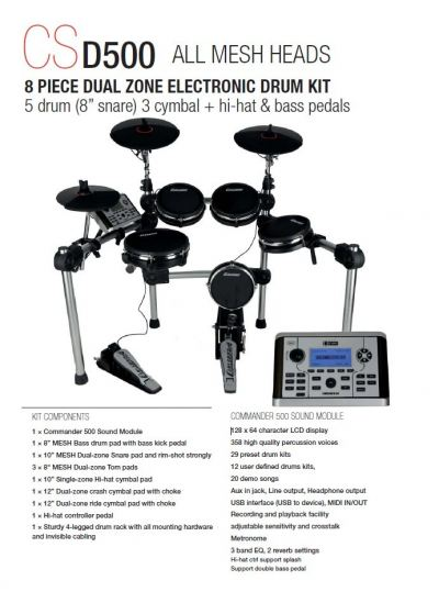 Carlsbro CSD500 Electric Drum Kit