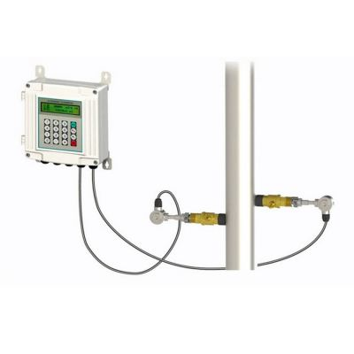Wall mounted insertion ultrasonic flow meter TUF-2000S