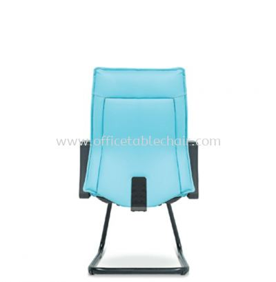CYPRUS EXECUTIVE VISITOR BACK CHAIR C/W EPOXY BLACK CANTILEVER BASE