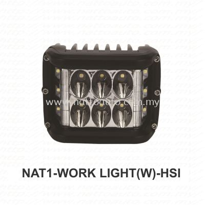 LED WORK LIGHT 12V-80V WHITE