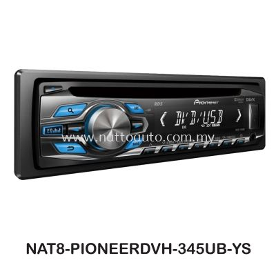 PIONEER DVH-345UB PLAYER W-TUNER