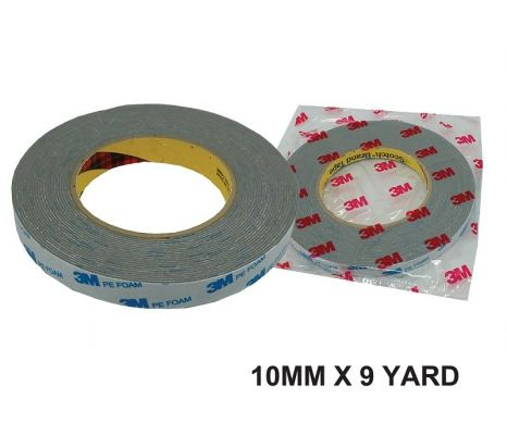 ~3M~10MM X9Y DOUBLE SIDE TAPE- GREY - 00400R