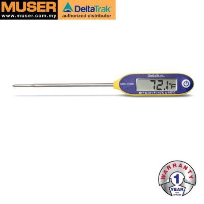 DeltaTrak 11066 | FlashCheck Jumbo Display Reduced Tip Probe Thermometer [Delivery: 3-5 days subject to availability]