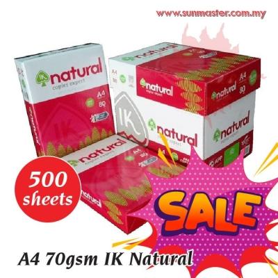 A4 70gsm IK Natural Paper (500s)