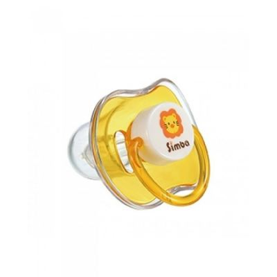 SIMBA CANDY THUMB SHAPED PACIFIER (YELLOW) 0M+