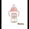 SIMBA (HANDLE) DOROTHY WONDERLAND PPSU WIDE NECK 270ML - PINK PPSU Feeding Bottle Simba
