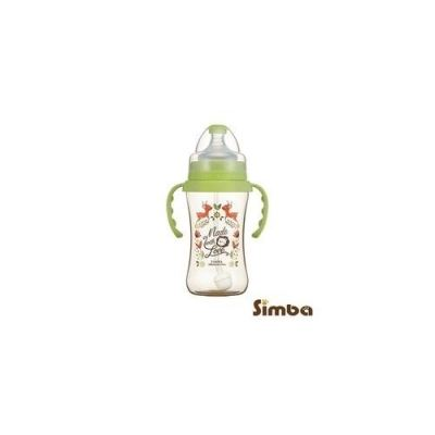 SIMBA (HANDLE) DOROTHY WONDERLAND PPSU WIDE NECK 270ML - GREEN