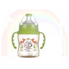 SIMBA (HANDLE) DOROTHY WONDERLAND PPSU WIDE NECK 200ML - GREEN PPSU Feeding Bottle Simba