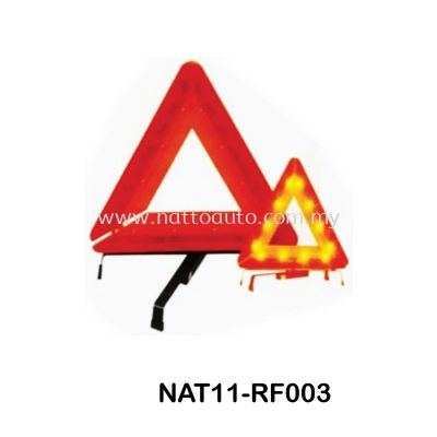 WARNING TRIANGLE WITH LED