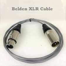 Belden 8761 Signal Mic XLR Male to Female Cable