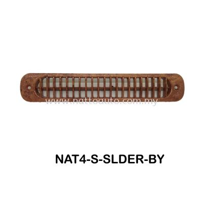 BUS WIND OUTLETS SLIDER (BROWN WOOD) Auto interior parts bus wind outlet air vent louver