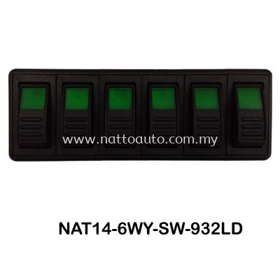 6 WAY PANEL SWITCH