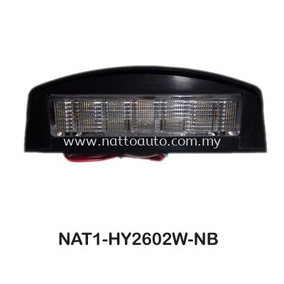 PLATE LIGHT 12 LED 10-30V