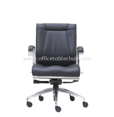 SUPERIOR DIRECTOR LOW BACK CHAIR WITH CHROME TRIMMING LINE ASE 1093