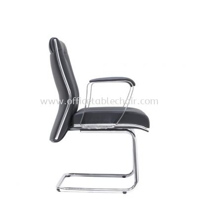 SUPERIOR DIRECTOR VISITOR CHAIR WITH CHROME TRIMMING LINE ASE 1094