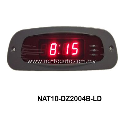 DIGITAL CLOCK 2004B (GREY COVER W RED WORD)