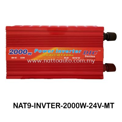 POWER INVERTER 2000W (24V)