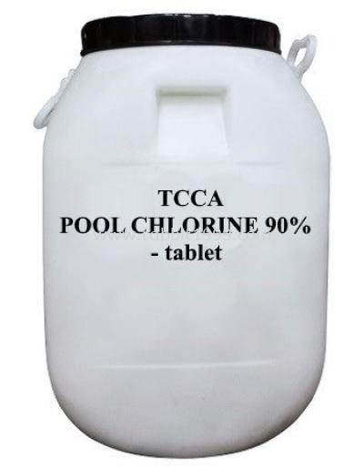 TCCA POOL CHLORINE 90% - tablet - 50kg