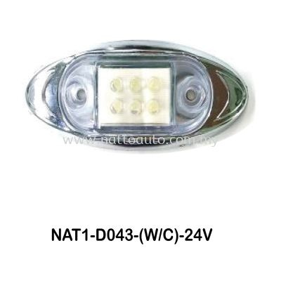 12V/24V Truck Bus LED Side Marker Lamp  D043 (WC)