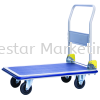 MYSTAR - SINGLE METAL PLATFORM FOLDABLE HAND TROLLEY SINGLE DECK MYSTAR HAND TROLLEY MATERIAL HANDLING EQUIPMENT (MHE)