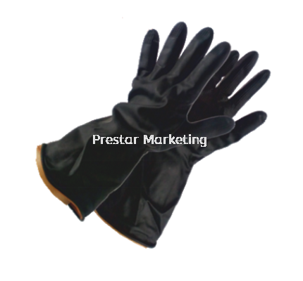 OREX - INDUSTRIAL BLACK RUBBER GLOVE