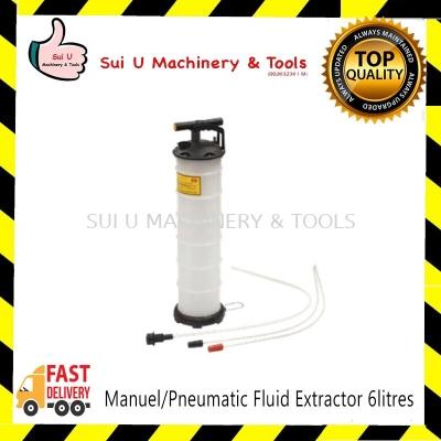 Manuel/Pneumatic Fluid Extractor 6litres