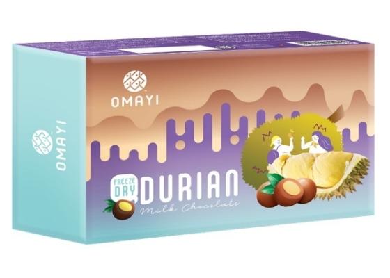 Freeze Dried Durian Milk Chocolate 冻干榴莲牛奶巧克力 RM 18.90