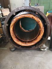 Genset Main Alternator , Repair and Rewinding Work