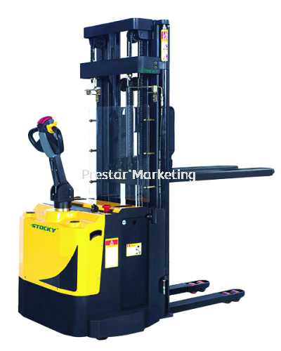 STOCKY ESH20F - HEAVY DUTY FORK OVER STACKER (2000 KG)