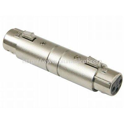 Roxtone RA001 3 pin XLR Female to XLR Female Adaptor