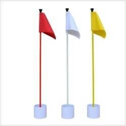 Standard Green Flag and Putting Cup (1 Set)