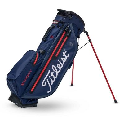 PLAYERS 4 PLUS STADRY™ STAND BAG NAVY | BLACK | RED TB9SX3-406 | Stock
