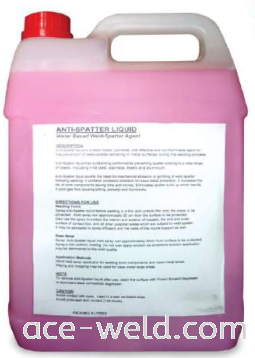Anti Spatter Liquid Ace Weld Chemical Selangor, Malaysia, Kuala Lumpur (KL), Puchong Supplier, Suppliers, Supply, Supplies | ACE Weld Sdn Bhd