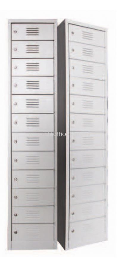 12S Compartments Steel Locker