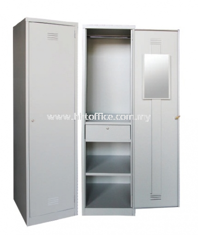1S Compartments Steel Locker