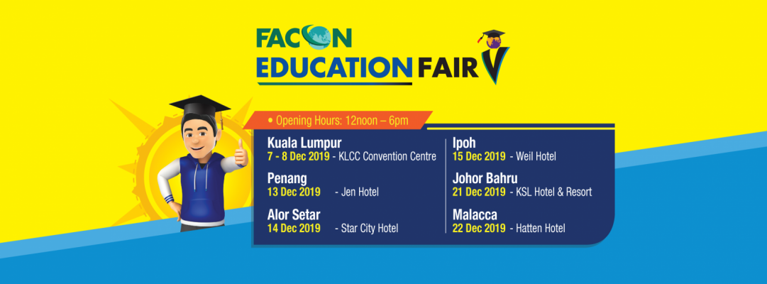 Facon Education Fair December 2019 - Johor Bahru