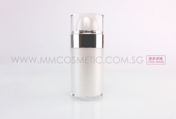(P)RN030 Round Acrylic Airless Lotion Bottle