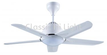 "Alphafan AF20LED Light 42"" 5 Blade AC Motor Ceiling Fan with Remote Control (3 Step Change Colour)"
