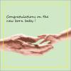New Born baby Wishes Card Printing Premium & Gift