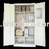 W198-Full Height Wardrobe  Steel Cupboard Metal Furniture