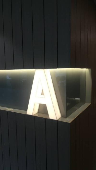 LED Front Lit