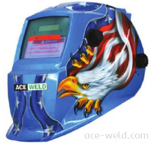 Solar Helmet Blue Eagle