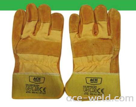 Semi Leather Hand Glove 10.5