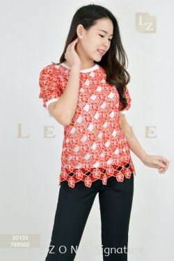 20133 BENNYPHIL LACE BLOUSE【2 FOR RM99】
