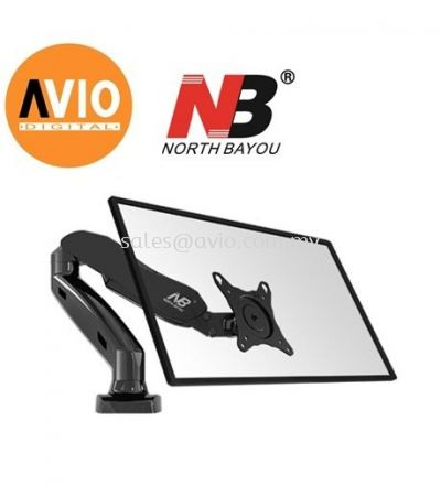NB F80 17 to 27 inch Single monitor Arm mount Bracket
