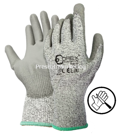 OREX - ANTI CUT SAFETY GLOVE WITH HPPE & PU COATING