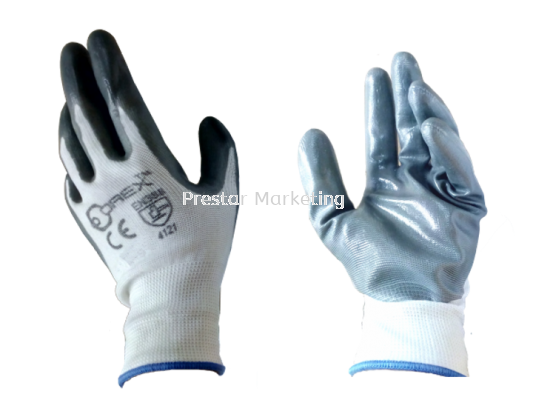 OREX - POLYESTER & NITRILE SAFETY GLOVE